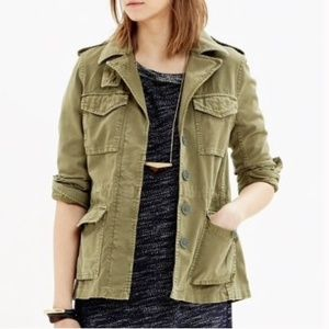 Madewell Outbound Military Olive Jacket